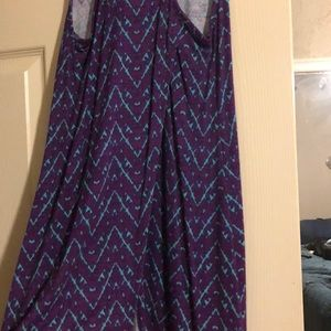 Loveappella Tops - Loveappella purple and turquoise top